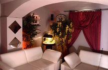 Kuschellounge mit luxuriösem Ambiente